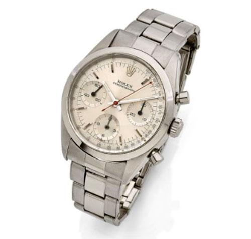 James Bond's 1960s Rolex Pré-Daytona watch goes up for auction
