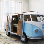 VW Camper Van in your bedroom: Circu Bun Van Bed
