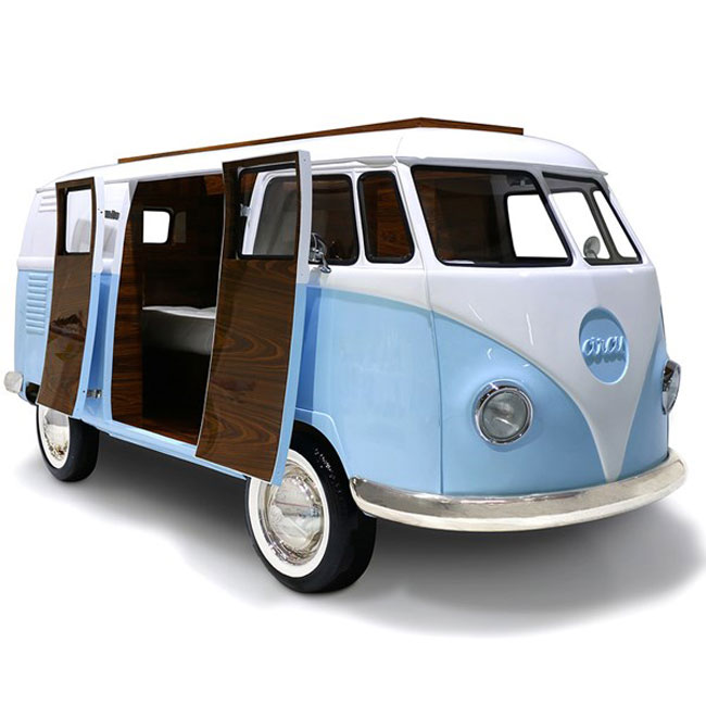 Circu Bun Van Bed: A Camper Van in the bedroom