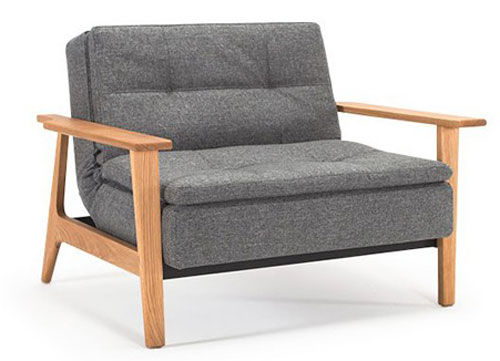 1950s-style Dublexo sofa bed and armchair at One Deko