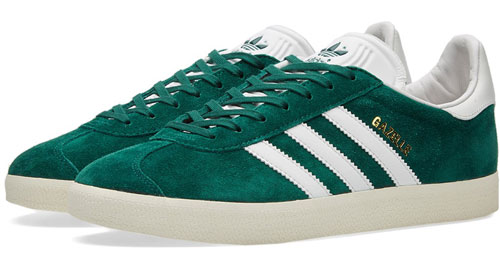 Adidas Gazelle Perfect trainers - the 1991 Gazelle shape reissued