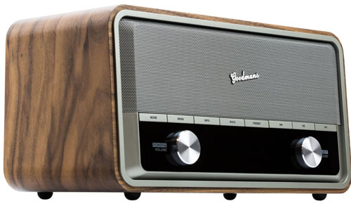goodmans heritage ii connect retro style radio retro to go. Black Bedroom Furniture Sets. Home Design Ideas