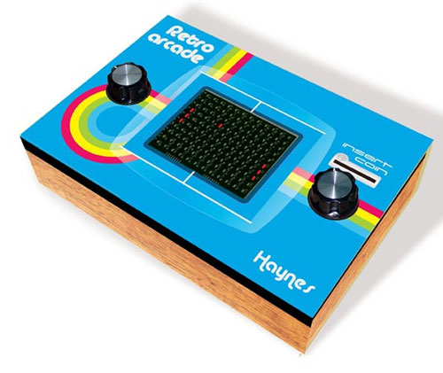Retro Arcade Game Kit by Haynes