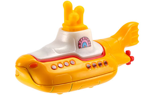 Yellow Submarine by The Beatles now a Hot Wheels collection
