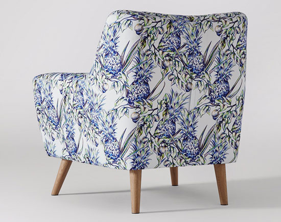 Swoon Editions x Hannah Hope-Johnson limited edition Templeton armchair