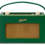 Roberts Revival retro-style iStream 2 internet radio gets an exclusive Windsor Green finish at Harrods