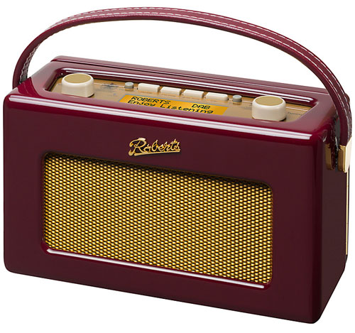 Burgundy Roberts Revival RD60 DAB Digital Radio at John Lewis