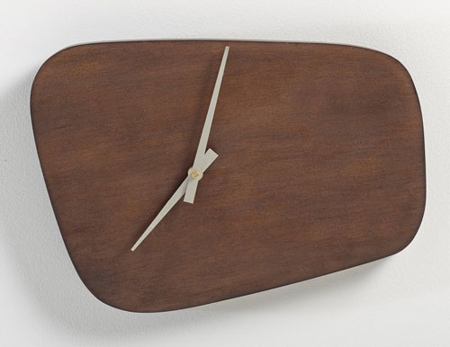1950s-style Kilda wall clock at La Redoute