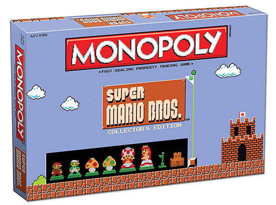 8-bit board gaming: Super Mario Bros Classic Monopoly