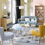 Fjord midcentury-style coffee table set at Maisons Du Monde