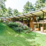 1960s John Terrance Kelly-designed midcentury modern property in Chardon, Ohio, USA