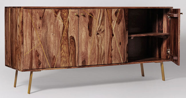 Herning retro-style sideboard at Swoon Editions
