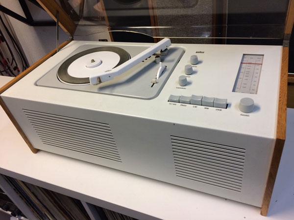 1950s Dieter Rams-designed Braun SK4 audio system