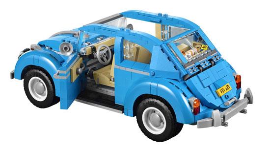 Lego Creator unveils the classic Volkswagen Beetle kit