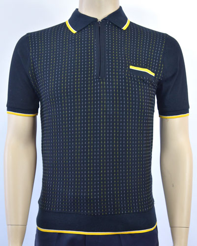 1960s-style Aertex polo shirts at Jump The Gun