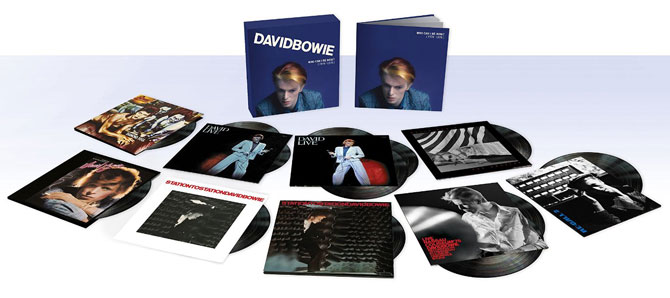 Vinyl spotting: David Bowie - Who Can I Be Now? (1974 - 1976) 13-disc vinyl box set