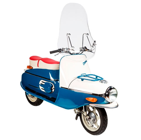 Vintage Cezeta scooter back in production with electric power