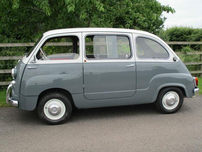Fully restored Fiat 600D Multipla