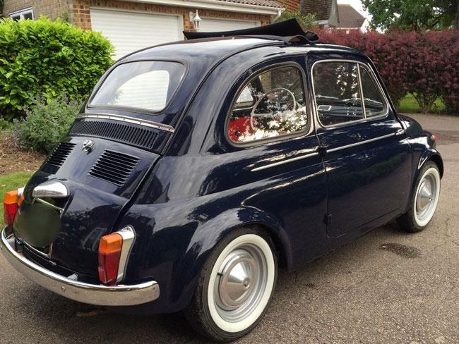 1965 Fiat 500 D