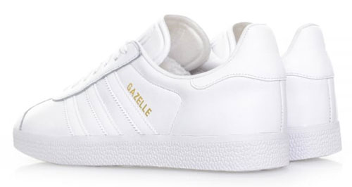 6cc1707697 Adidas Gazelle trainers return in all-white leather