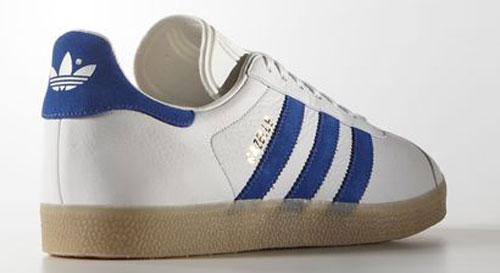 1991 Adidas Gazelle trainers return as a one-to-one reissue in leather