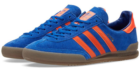 Coming soon: Adidas Jeans trainers in blue and green suede options