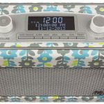Vintage-style Kitsound Jive DAB/FM radio returns in a retro floral finish