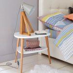 Midcentury bedroom: Jimi Vintage Bedside Table at La Redoute