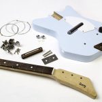 Retro-style Loog electric guitars for kids