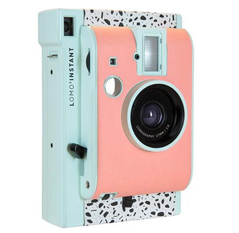 1980s-inspired Lomo'Instant Milano camera