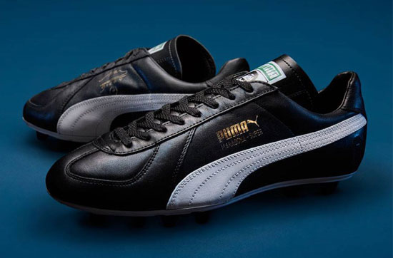Puma reissues the King Maradona Super boots as a 30th anniversary limited edition
