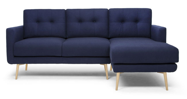 Midcentury-style Primrose Hill seating range at Sofas & Stuff
