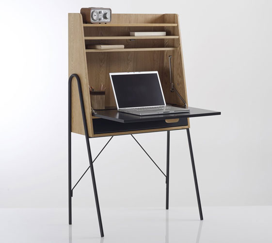 Quilda Retro Writing Desk at La Redoute