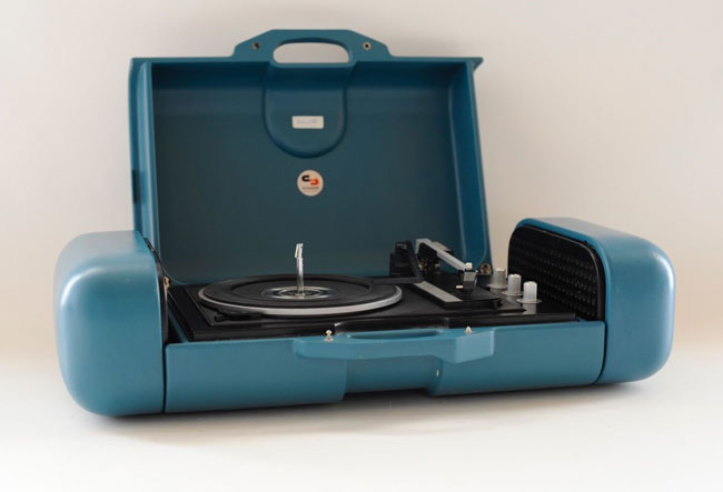 1970s Schneider Super Sound Set portable record player