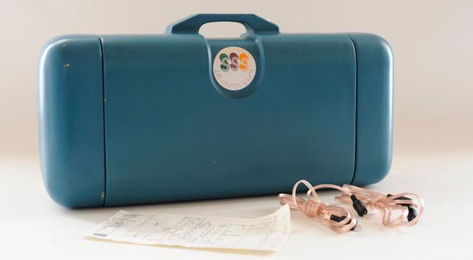 1970s Schneider Super Sound Set portable record player