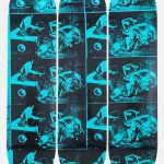 The Skateroom x The Andy Warhol Foundation limited edition skateboard decks