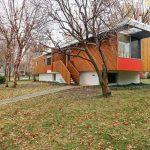 Retro house for sale: 1950s Marcel Breuer-designed Snower Residence in Mission Hills, Kansas, USA