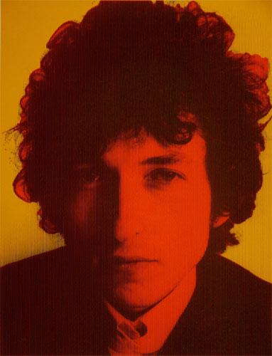Bob Dylan limited edition pop art prints by David Studwell