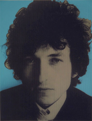 Bob Dylan limited edition pop art prints by David Studwell