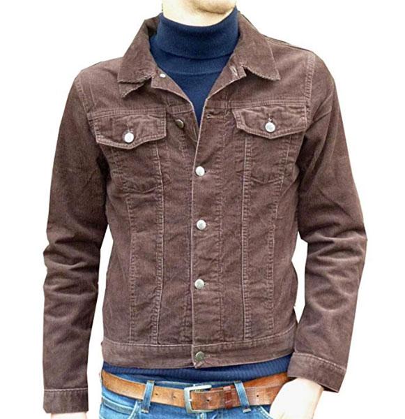 Vintage-style cord jackets at Fuzzdandy