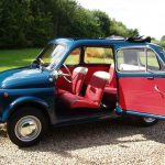 Fully restored 1960s Fiat 500 Giardinara