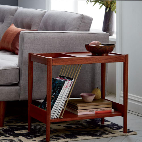 Mid-Century Magazine Side Table at West Elm