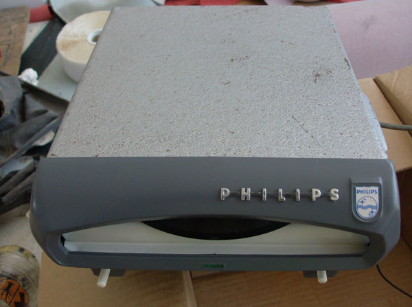 Unused 1960s Phiips Mignon in-car record player