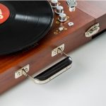 Retro audio: Vintage-style Ricatech wooden turntable