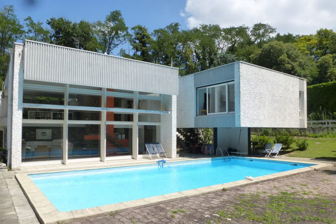 1960s Claude Calmettes-designed modernist property near Valence, France