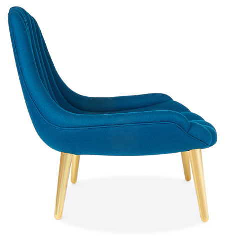 1960s-style Brigitte Lounge Chair by Jonathan Adler