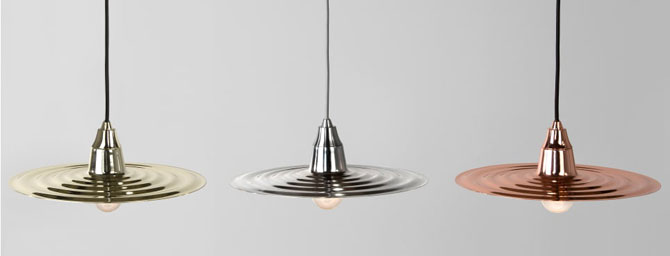 Retro-style Cafe pendant lights at Made