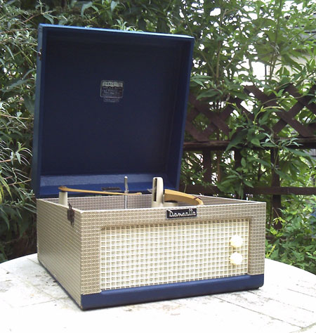 Fully restored 1950s Dansette Major Mk2 record player