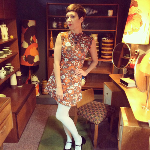 1960s-style dresses by Yesterday Vintage