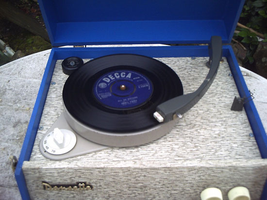 Fully restored 1964 Dansette Popular record player